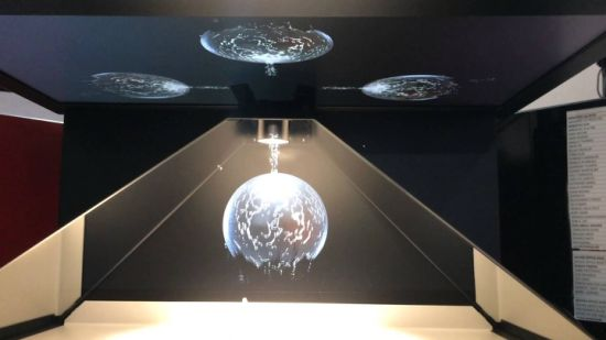 4-Sided 1X1 Meter 3D Hologram Showcase