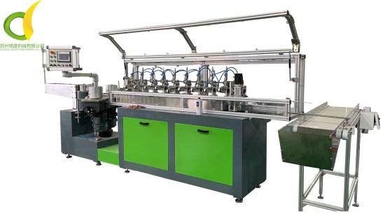 Manufacturer Drinking Straw Making Machine with Servo Motor Supported