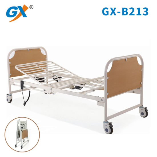 Foldable Two-Function Hospital Bed for Homecare or Hospital