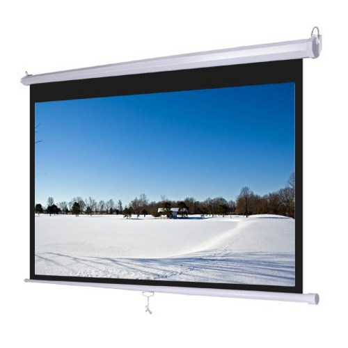 """16:9// 4:3 Projection HD Home Theater 60-150/"""" Electric// Manual Projector Screen"""