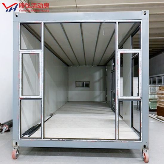 Hot Selling New Fashion Best Quality Galvanized Steel Frame Prefab Container House Container
