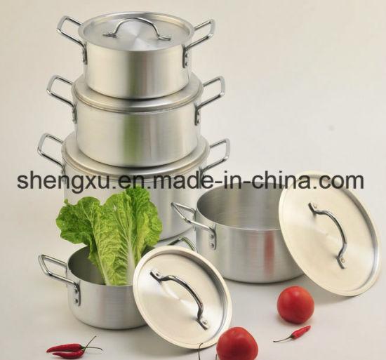 Non-Stick Aluminum Sauce Energy-Saving Cookware Sets (SX-A005)