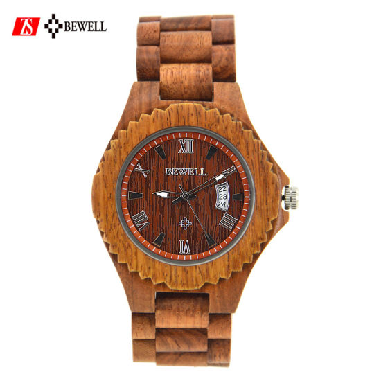 Cheap Engraved Minimalist Wooden Watches pictures & photos