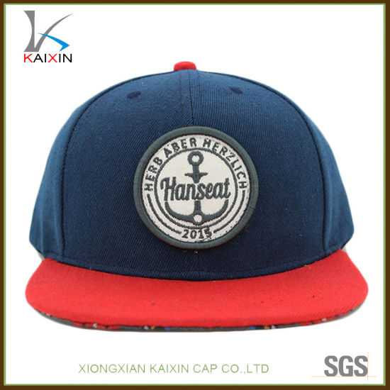 33985ca7326 China Custom Kids Unstructured 3D Embroidery Patch Acrylic Snapback ...