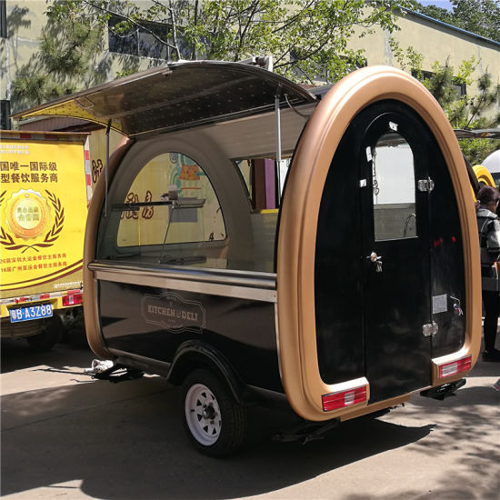 Customized Hot Sale Mobile Food Cart Trailer Coffee Van