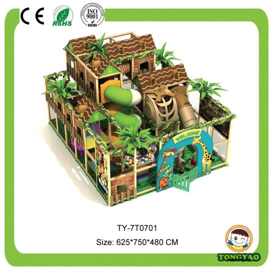 Kids Indoor Playground Equipment Playground Toys (TY-7T0701)