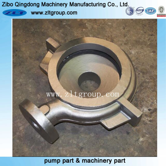Stainless Steel/Carbon Steel Pump Volute Casing in Sand Casting