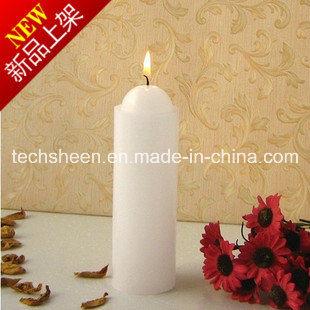 Pillar White Candle