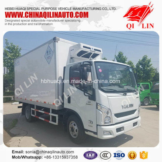 Medicine Carrier Refrigerator Van Truck with Air Conditioner