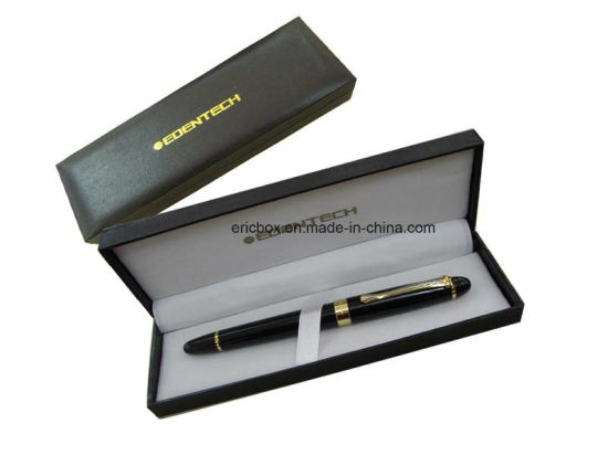 Jy-Pb25 High Quality Black Plastic Gift Pen Packing Case pictures & photos