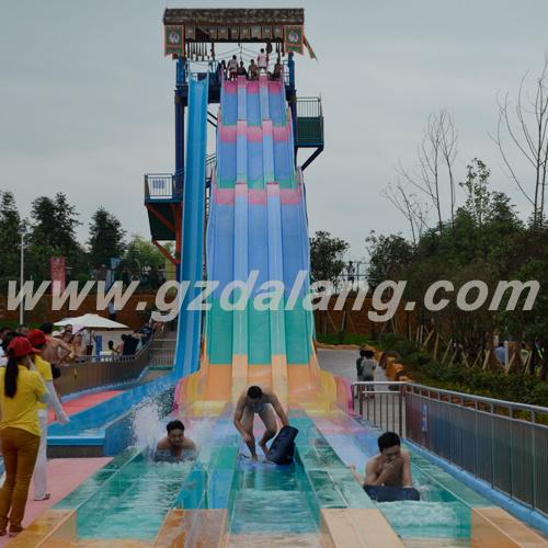 Three Colors Rainbow Water Slide (DL: WS-1212)
