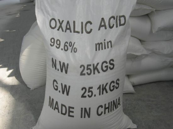 Oxalic Acid 96%, 99.6% for Leather and Tanning pictures & photos