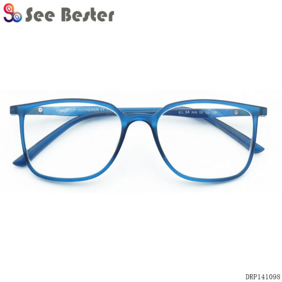 d95832ba7a1 China Factory Manufacturing Clear Plastic Frame Reading Glasses ...