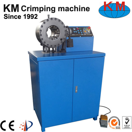 Approved CE Hydraulic Hose Crimping Machine (KM-91C-5) pictures & photos