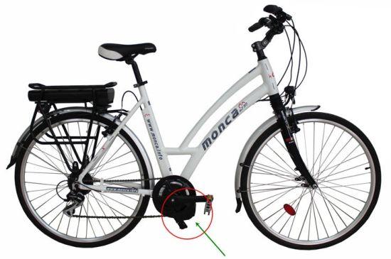 Globle Popular Middle Driven Motor 8fun Shimano City E Bike E-Bike Electric E Bicycle Power Feel