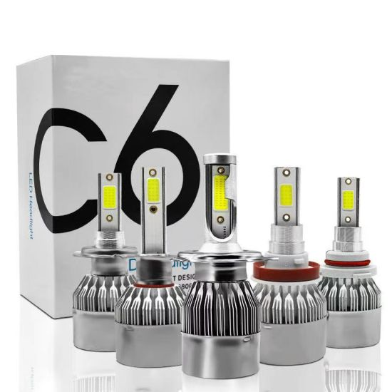 Wholesale Cheapest C6 S2 Car LED Lighting 72W 12000lm Auto Lamps LED Light Bulb H4 Auto Light H7 LED Car Light H11 9005 9006 LED Headlight