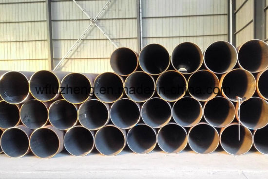 ERW ASTM A53 106 Steel Pipe Sch40, API 5L Psl1 Psl2 ERW Steel Pipe Dn450 Dn400 Dn350 pictures & photos