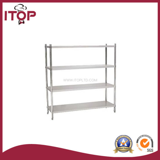 Stainless Steel AISI201 4 Tiers Plate Rack (PR-R02)  sc 1 st  Guangzhou Itop Kitchen Equipment Co. Ltd. & China Stainless Steel AISI201 4 Tiers Plate Rack (PR-R02) - China ...