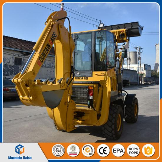 Geliebte China Wheel Backhoe Loader Mini Backhoe Excavator Bagger - China @XX_54