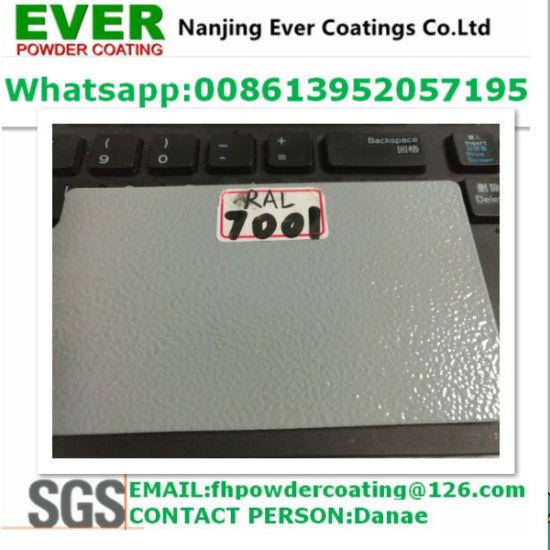 China Electrostatic Painting Gun Ral7001 Powder Coating China