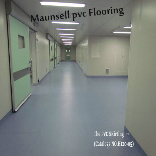 Professional PVC Sheet Roll Hospital And Medical Flooring Indoor Used