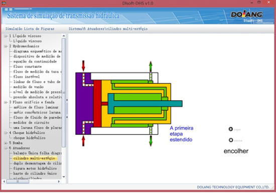 [Hot Item] Hydraulic Principle Simulation Software
