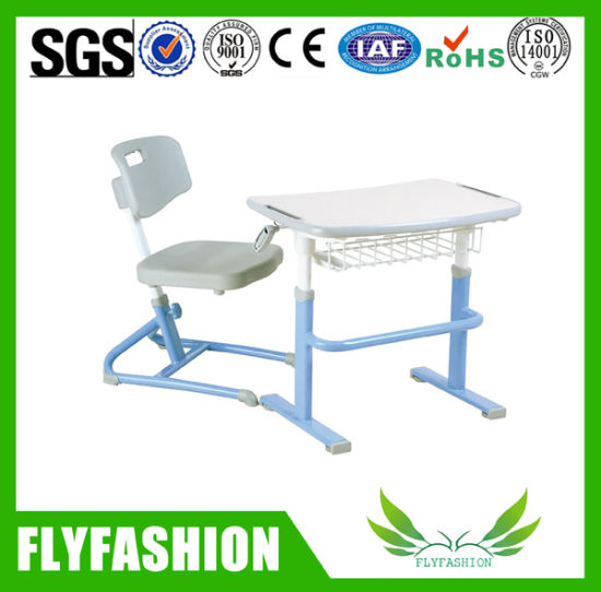 Fine Adjustable Compact Classroom Furniture Single Desk Set Sf 18S Andrewgaddart Wooden Chair Designs For Living Room Andrewgaddartcom