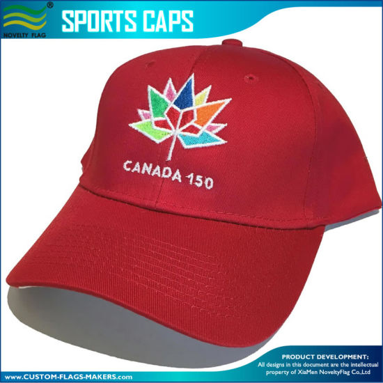 83434db2402 Canada 150 Year Anniversary 1867 - 2017 Embroidered Red Hat Cap pictures    photos