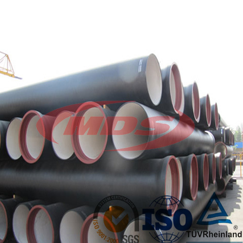 Water Pressure Test Drinking Ductile Iron Pipe