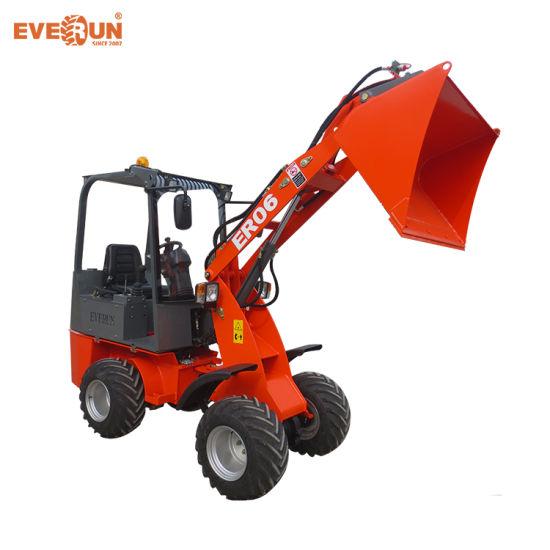 China Everun Brand Mini Loader Er06 with Italy Hydrostatic