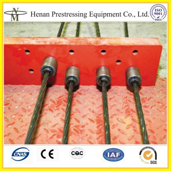 Pre-Stressing Single Hole Anchor Barrel and Wedges for Prestressed Concrete