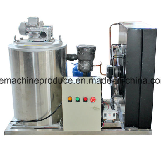 0.3t Flake Ice Machine with PLC Control System pictures & photos