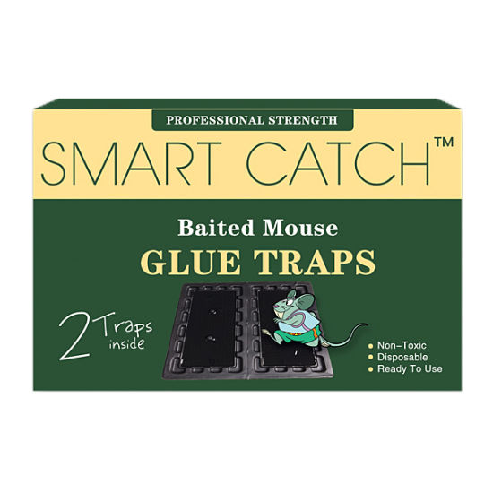 Mouse Glue Traps (Medium Black Plastic Board) (HPS-1020)