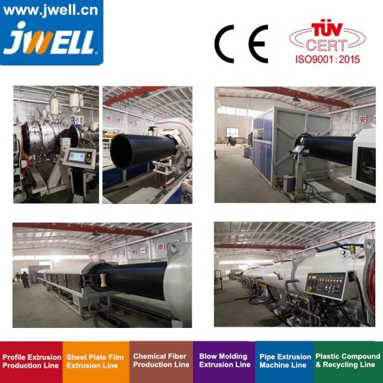 Jwell Plastic HDPE 900-1600mm Water Supply/Sewage Pipe Extrusion/Extruding Making Machine