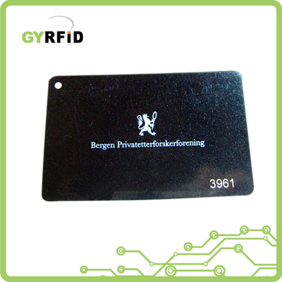 Printable Company ID Card MIFARE Cards for Entry Systems (ISO) pictures & photos