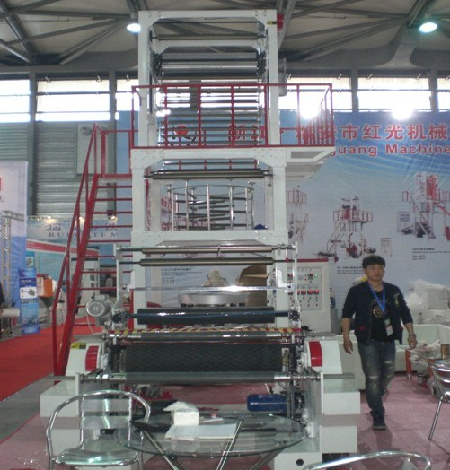 1000mm Automatic Winder PE Film Blowing Machine pictures & photos