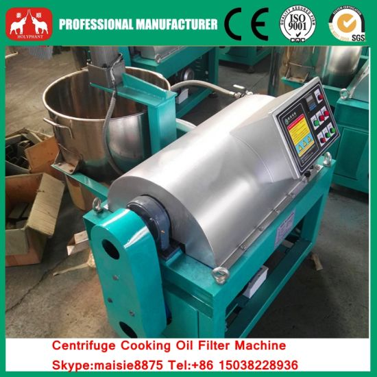 Automatic Centrifugal Cooking Oil Filter Machine pictures & photos
