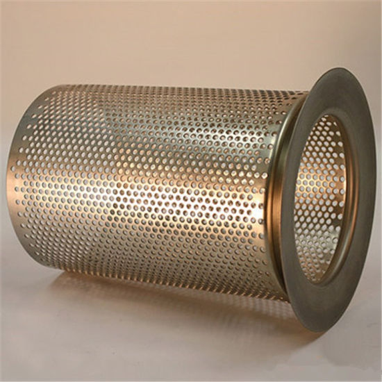 China Stainless Steel Filter Wire Mesh Screen Tube / Round Hole ...