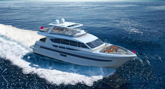 Aquitalia 85FT Super Luxury Yacht with Flybridge