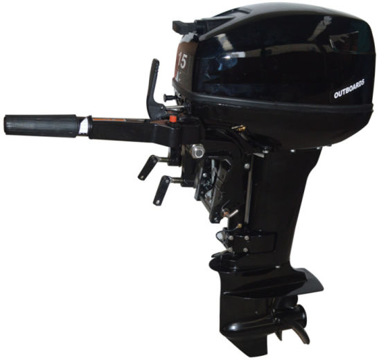 2 Stroke Water-Cooled 15HP Outboard Motor /Outboard Engine/Boat Engine