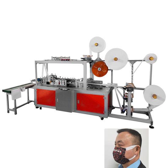 Elastic Wide Ear Band Face Mask Machine Ultrasonic Welding Machine with Children & Adult Mask Making Machine