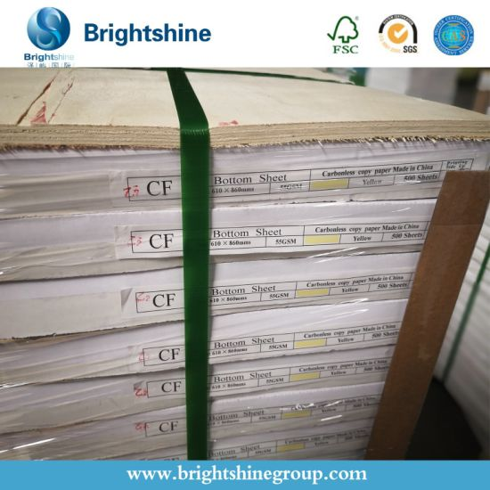 860*610mm Sheet /Roll Cabonless /NCR Copy Paper