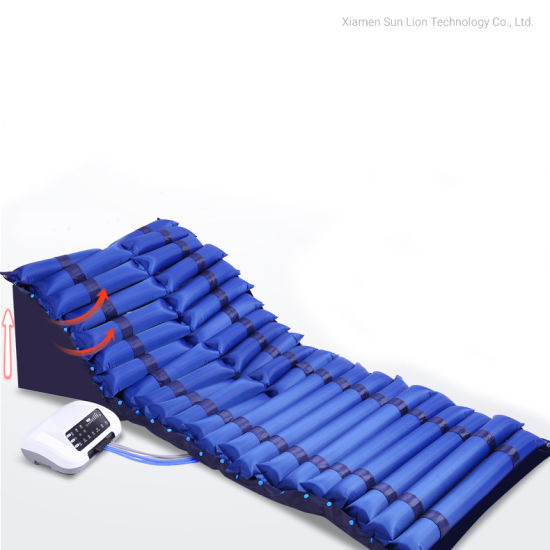 Medical Home Care Inflatable Air Tubular Mattress for Bedridden Patient