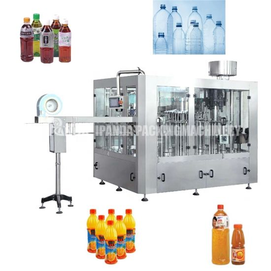 Monoblock Mineral Pure Drinking Water Liquid Production Line Filling Machine Automatic Beverage Soft Water Bottling Machine