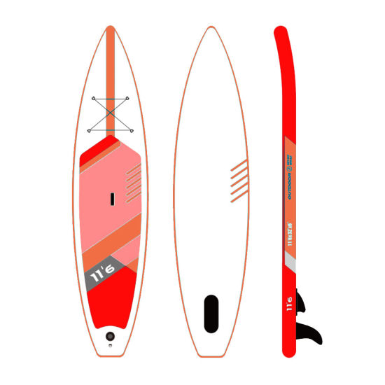 New Design Custom Foldable Inflatable Sup Stand up Paddle Board Isup for Sale Kayaking Fishing Yoga Surf