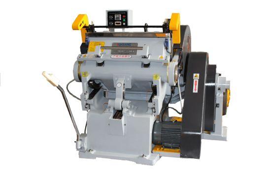 Industrial Die Cutting Machines/Carton Die Cut Machine/Manual Paper Die Cutting and Creasing Machine
