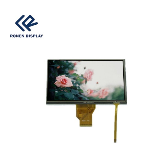 POS/Car/PDA 7 Inch 800X480 TFT LCD Display Touch Screen