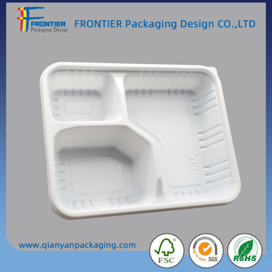 Manufacturers Direct Disposable Food Box Business Takeout Packaging Box PP Microwave Oven Special Compartments Lunch Box Wholesale