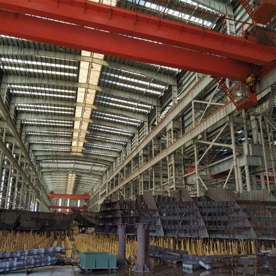 Steel Frame Structures Factory with Heavy Steel