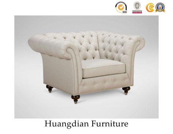 China Tufted Wing Back Sofa Furniture, Wing Back Sofa